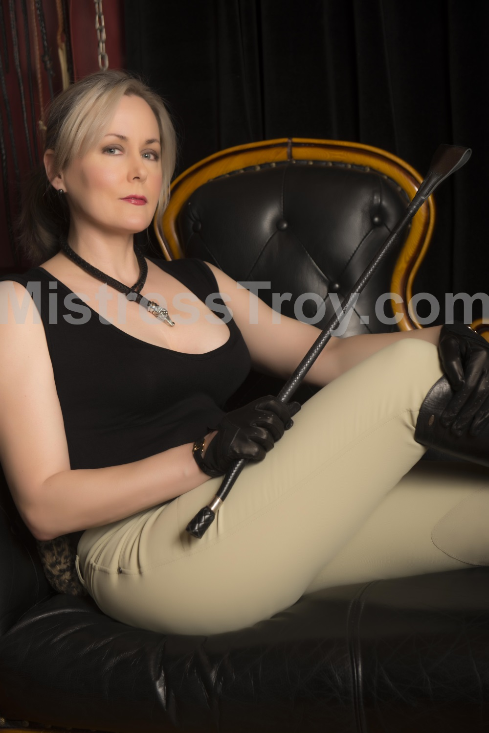 Mistress Troy, professional independent Dominatrix in New York City, NY
