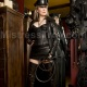 Mistress Troy, Leather Mistress with a bullwhip