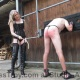 Mistress Troy canes Slave Latigo at Residenz Avalon in Berlin, Germany