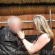 Mistress Troy slaps and questions the slave post-trial, Avalon, Berlin