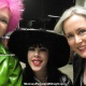 The Baroness, Mistress Porcelain Midnight and Mistress Troy at the Mistress Tea, DomCon LA 2018